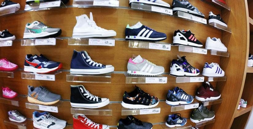 abbigliamento sportivo di marca, calzature sportive di grandi marchi