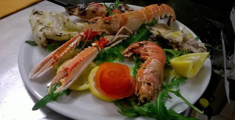 da hosteria olio d'oliva puoi gustare deliziosi piatti a base di crostacei e pesce
