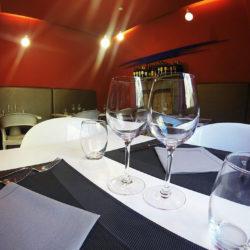 il caldi ambienti del ristorante il Gargolo di viterbo lo rendoono sicuramente uno dei migliori ristoranti nella tuscia
