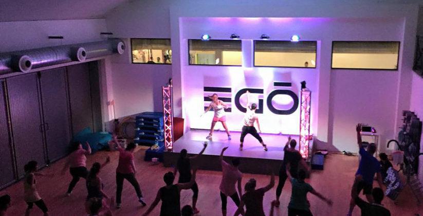 lezioni di aerobica attiva nella palestra Egò Fitness Club di viterbo