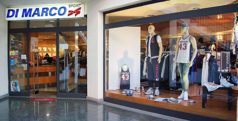 abbigliamento sportivo di qualità, da dimarco psort puoi trovare tutti i marchi sportivi per le tue attività