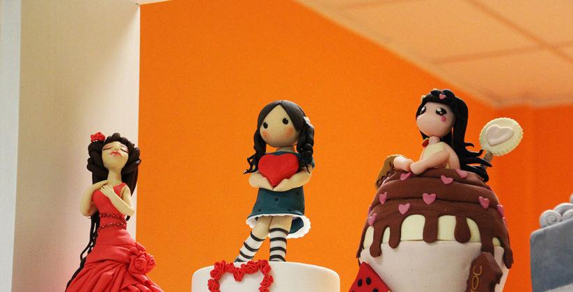 dolci creazioni in cake design fatte da cook'n roll viterbo