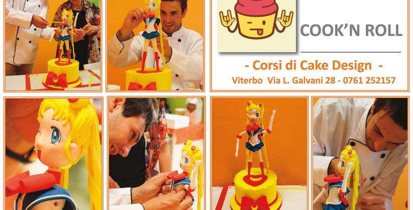 cook'n roll viterbo, una delle lezioni in cui possiamo apprendere le tecniche per realizzare capolavori dolci