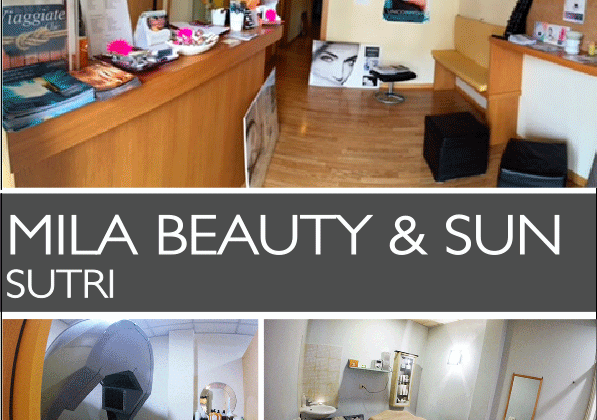 mila beauty & sun a sutri è partner di e-choose