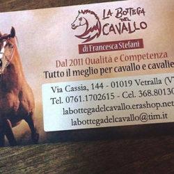 LA BOTTEGA DEL CAVALLO a vetralla è uno dei negozi di alta qualità per prodotti riguardanti l'equitazione e sport