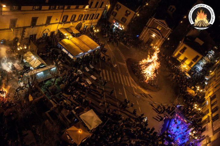 Bagnaia - Sacro Fuocodi Sant'Antaonio