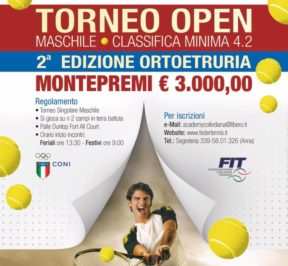 Torneo di tennis a Sutri