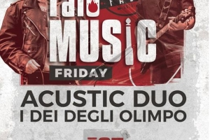 Falò Music Friday: Venerdì 25 Giugno