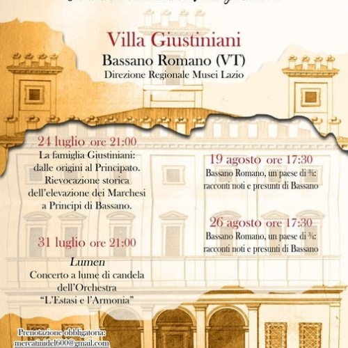 """Bassano Romano: """"Per aspera ad astra -Oltre le…"""