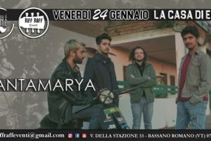 Santamarya Live – La Casa di Emme 24.01