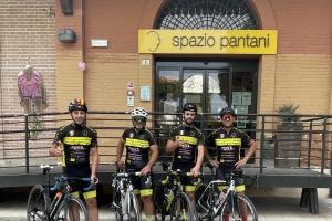 Viterbo – Cesenatico in Bici. La VT CREW RIDERS, 315 Chilometri in onore a Marco Pantani