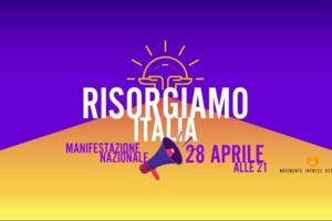 Questa sera ore 21.00 la protesta dei Ristoratori: Risorgiamo Italia
