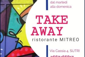 Sutri, Osteria Il Mitreo: ecco il menu take away