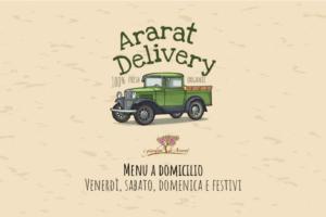 Ararat Delivery: menu a domicilio nel tuo fine settimana