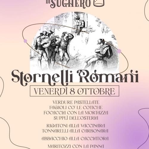 Stornelli Romani all'Osteria di Sughero