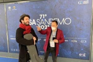 """Simone Gamberi in gara con """"Cinque vite per te"""" a Sanremo Newtalent"""