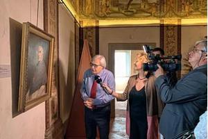 Vittorio Sgarbi inaugura la nuova stagione espositiva a Sutri – Sabato 8 Maggio 2021