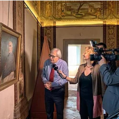 Vittorio Sgarbi inaugura la nuova stagione espositiva a…
