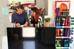 Marco e Stefania,  Hair Stylist – I segreti per un taglio perfetto.