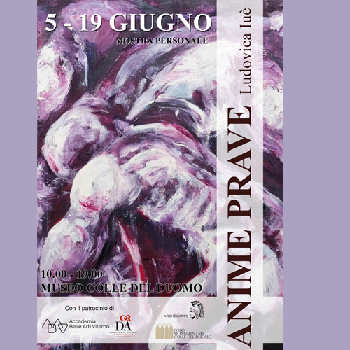 "Viterbo: mostra personale ""Anime Prave"" al Polo monumentale…"