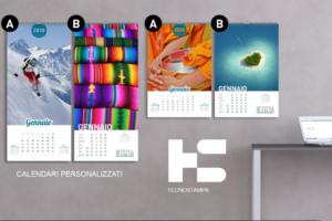 Calendari Aziendali personalizzati con stampa del tuo logo. Richiedi ora il tuo preventivo
