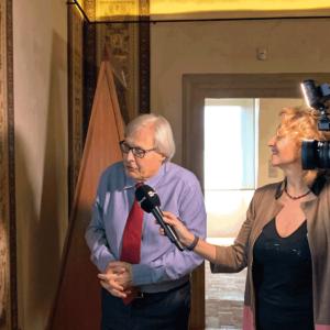 Sutri – Vittorio Sgarbi porta i maestri dell'Arte…