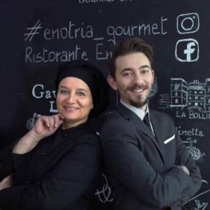 Stefania Mancini e Marco Rappuoli