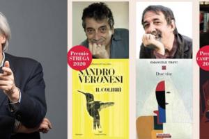 Vittorio Sgarbi incontra a Sutri il premio strega e  il premio Campiello 2020 in un dialogo nel giardino di Palazzo Doebbing